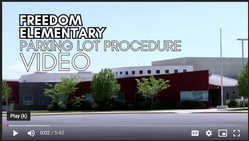 Freedom Parking Lot Procedures